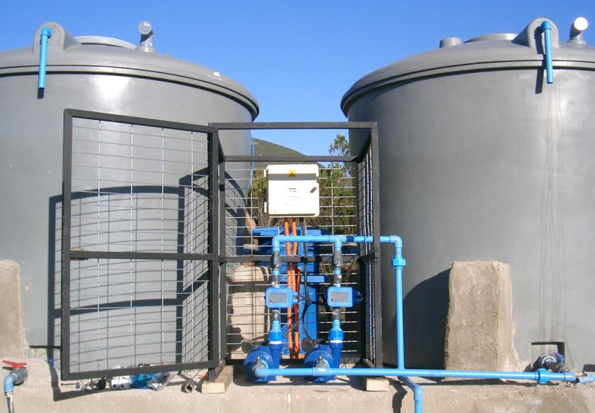 Plantas para tratamiento de agua servida