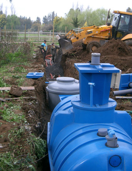 plantas de tratamientos de agua en chile tuberías